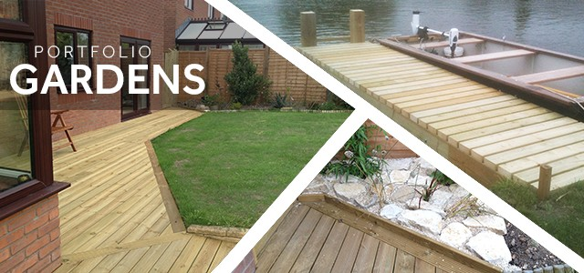 Gardens and Decking